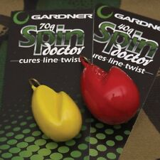 GARDNER TACKLE 40g (YELLOW) SPIN DOCTOR LINE TWIST REMOVER FOR CARP FISHING