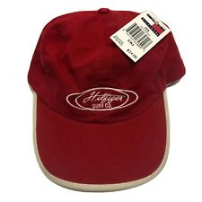 VTG 90's Rare New With Tags Tommy Hilfiger Surf Co. Leather Adjustable Strap Hat