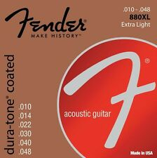 Fender Dura-Tone Coated 880XL Acoustic Guitar Strings