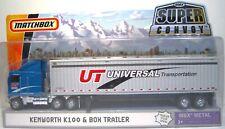 Matchbox Super Convoy Kenworth K100 & Box Trailer MBX Metal, #R5854