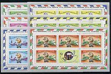 Malediven 514/19 C Kleinbogen postfrisch / Eisenbahn - UPU - Verkehr .....1/2828