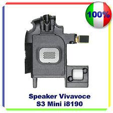CASSA SUONERIA SAMSUNG S3 MINI i8190 NERO VIVAVOCE BUZZER ALTOPARLANTE NERO