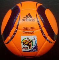 Adidas Jabulani Power orange 2010 Worldcup Soccer Match Ball A+ REPLICA Size 5