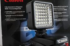 SLR/Photo/Video LED Light For Canon Digital Rebel T6 T6i t5 t5i SL1 xtI 2 Pieces
