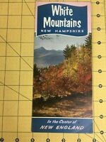 Vintage Brochure White Mountains New Hampshire in the Center of New England