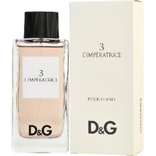 D&G 3L'IMPERATRICE BY DOLCE & GABBANA  EAU DE TOILETTE 3.3oz FOR WOMEN BRAND NEW