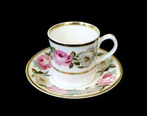 Beautiful Royal Worcester Royal Garden Cup And Saucer