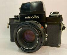 RARE    Minolta X-1 w MD 50mm f2 Len Set