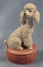 Pudel poodle porzellan hund Figur porzellanfigur Goebel alt