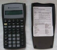 Texas Instruments Business Analyst BA II Plus BA2 Plus Financial Calculator Used