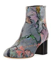 """NWOB Rag & Bone """"Drea"""" Floral Velvet Ankle Boot Size 37.5 Rtls. $575.00"""