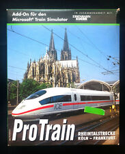 ProTrain Rheintalstrecke Koln-Frankfurt | Add-on for Microsoft Train Simulator