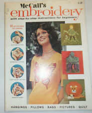 McCall's Embroidery Magazine 65 Stitches To Learn No.2 040915R