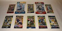 10 New Pokemon Packs Unweighed / 10 Card Packs & 3 Card Packs XY Evolutions PLUS