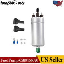 Inline High Pressure Fuel Pump Universal With Installation Kit 0580464070