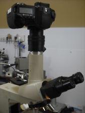 Canon Full Frame To Nikon Labophot 2 Microscope Camera Kit Using A M42 Varifocal