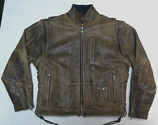 HARLEY DAVIDSON ORIGINAL PANHEAD LEATHER JACKET VEST MENS LARGE LG - MEDIUM  #40