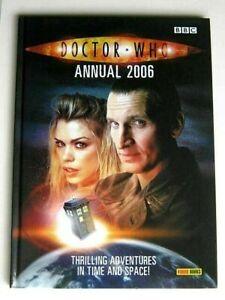 DOCTOR WHO ANNUAL 2006.  MINT UNREAD CONDITION... PANINI BOOKS.  DALEKS etc