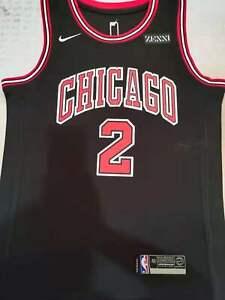 Lonzo Ball #2 Chicago Bulls Black Jersey #2