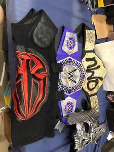 WWE BELT LOT