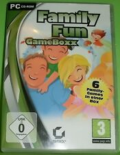Family Fun GameBoxx (PC - Spiel) 6 Family-Games in einer Box
