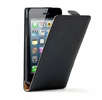 Vertical Leather Flip Case Mobile Phone Cover Pouch for Apple iPhone 5C 5S 5GS 5