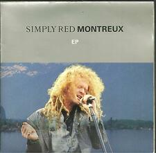 """7A2 140623 used vinyl 7"""" SIMPLY RED MONTREUX EP LOVE FOR SALE - DROWNING IN MY O"""