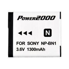 Power2000 NP-BN1 ACD-325 Rechargeable Battery for Sony DSC W330 W530 W620 W710