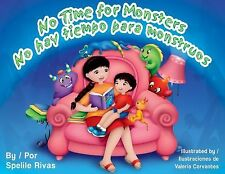No Time for Monsters / No Hay Tiempo Para Monstruos-ExLibrary