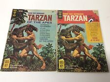 TARZAN OF THE APES #155 & #178 (BURROUGH'S 1st TARZAN STORY/1216653) SET OF 2