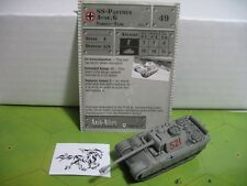 Axis & Allies Base Set SS-Panther Ausf. G with card 38/48