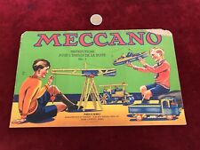 catalogue brochure de jouet N 22 meccano