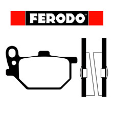 Coppia pastiglie freno anteriori/posteriori Ferodo FDB184 Yamaha RD/XS