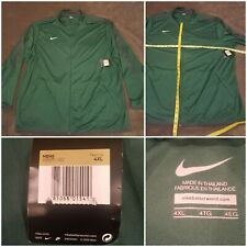 Nike Men's Warmup Training Jacket, Full Zip, Green Gray , 4XL 100% POLYESTER NWT