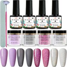 10Pcs/Set Meet Across Dipping Powder System Liquid Nails File Brush Kit Manicure