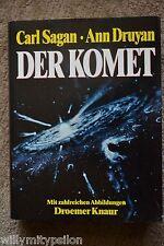 Carl Sagan & Ann Druyan: DER KOMET. Mit 350 Abbildungen. Deutsche EA Droemer Kna