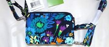 VERA BRADLEY ALL IN ONE CROSSBODY WRISTLET With Shoulder Strap - MIDNIGHT BLUES