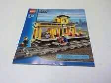 LEGO 7997 City Train Station Instruction manual  Only