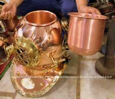 Copper Vintage Nautical Scuba Diving Us Navy Brass Boston Deep Sca Divers Helmet