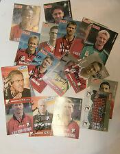 VINTAGE 17pc SPORT CARD FC GAK GRAZ AUSTRIAN FOOTBALL CLUB TEAM WITH AUTOGRAPHS