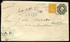 s1675) Chile - Spanien Ganzsache Reco 1892 Colon enteropostal Postal Stationery