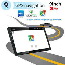 9'' Universal Ultra-thin Android9.1 Stereo Radio GPS Wifi GPS Wifi 4G BT DAB OBD