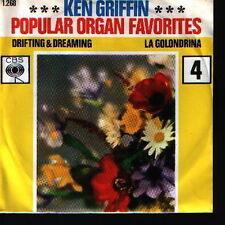 """7"""" Ken Griffin popular organo Favorites La golondrina 60`s CBS"""