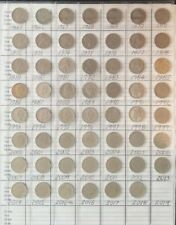 1966 - 2018 5c cent coin collection including 1972, 1985, 1986, 2016 p-c