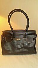 Russell & Bromley Black  Leather Handbag