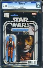 Star Wars #11 CGC 9.8 Luke X-Wing Pilot Action Figure Variant Cover