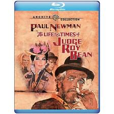 Blu Ray THE LIFE AND TIMES OF JUDGE ROY BEAN. Paul Newman. Region free. New.