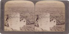 GRECE Greece Argos Nauplie Photo Stereo Stereoview Papier Citrate Vintage