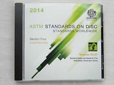 ASTM Volume 04.07 Building Seals Sealants Fire Standards Dimension Stone 2014CD