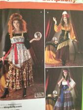 Simplicity Sewing Patterns 2331 Misses Gypsy Steampunk Costume Size 14-22 UC